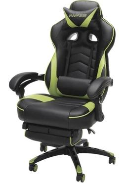 RESPAWN 110 Racing Style Gaming Chair, Reclining Leather Cha