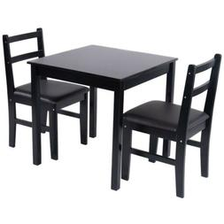 3 Pieces Dining Set Table And Chairs Kitchen Home Furniture