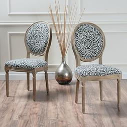 Christopher Knight Home 300257 Phinnaeus Fabric Dining Chair