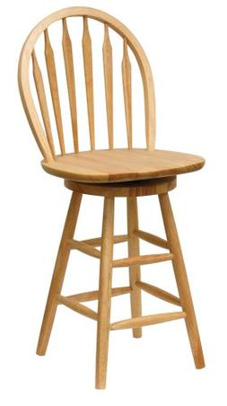 Winsome Wood Wagner Arrow-Back Counter Stool with Swivel Sea