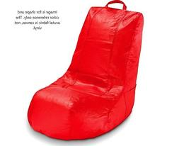 AceEssentials Video/Gaming Bean Bag Chair Cover Red Canvas *