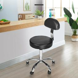 Black PU Leather High Back Office Chair Home Kitchen Ergonom