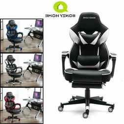 Gaming Chair High/Mid Back Leather Swivel Office Ergonomic D