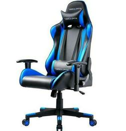 GTRACING E-Sports Gaming Chair w/ Headrest and Lumbar Pillow