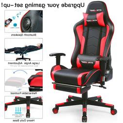GTRACING Music Gaming Chair Racing Style Heavy Duty Chair wi