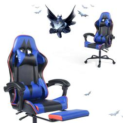 Ergonomic Swivel Gaming Chair Computer Desk Racing Rocker Re