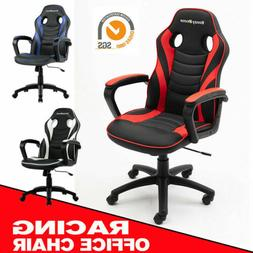 Gaming Chair Racing PU Leather Home Office Executive Compute