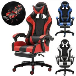 CLIENSY Gaming Chair Racing Recliner Durable Seat Computer D