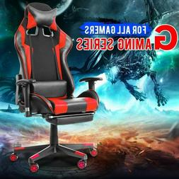 !!Gaming Chair Racing Style!! 100% AUTHENTIC PU Leather & Sw