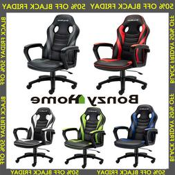 Gaming Chair Racing Style PU Leather Home Office Executive C