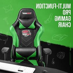 Ergonomic Computer Gaming Chair with Footrest Office Desk Re