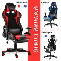 Heavy Duty Gaming Chair Ergonomic Recliner Office Computer S