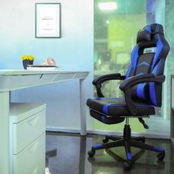 High Back Adjustable Gaming Chair Computer Desk Chair Racing