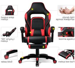 GTRACING High Back Gaming Chair Executive Chair Adjustable R