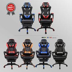 high back recliner seat gaming chair office