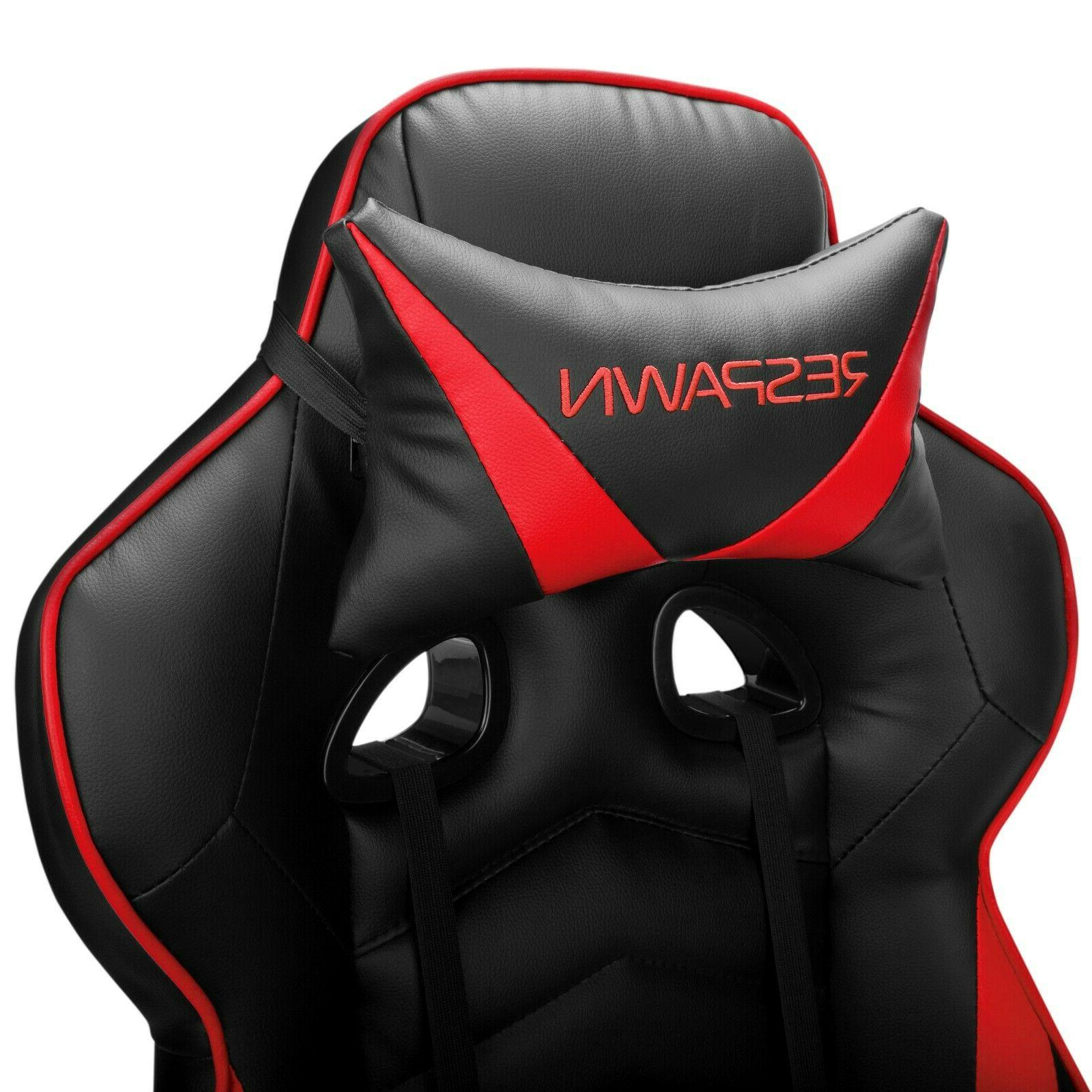 RESPAWN 110 Racing Gaming Chair, Chair W/Foot