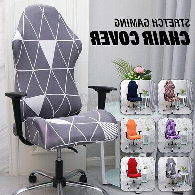 2pcs set removable stretch gaming chair cover