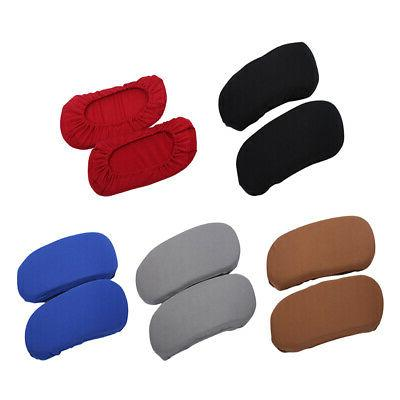 2pcs washable removable office chair armrest cover