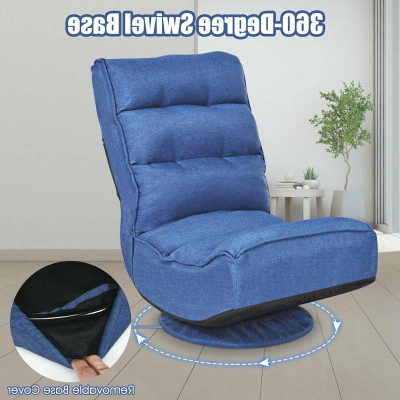 5-Position Folding Floor Chair PC Kids Gaming