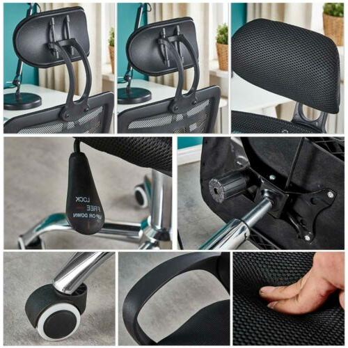 Adjustable Desk Chair Computer Rolling Swivel Gaming Chair US