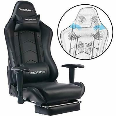 Big And Tall Chair With Footrest Duty Adjustable