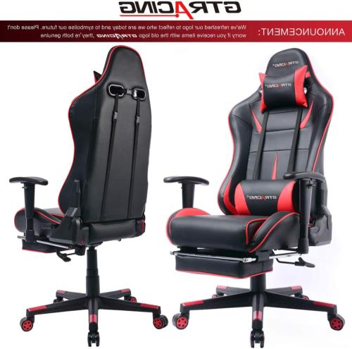 Computer Gaming Footrest Racing & Tall