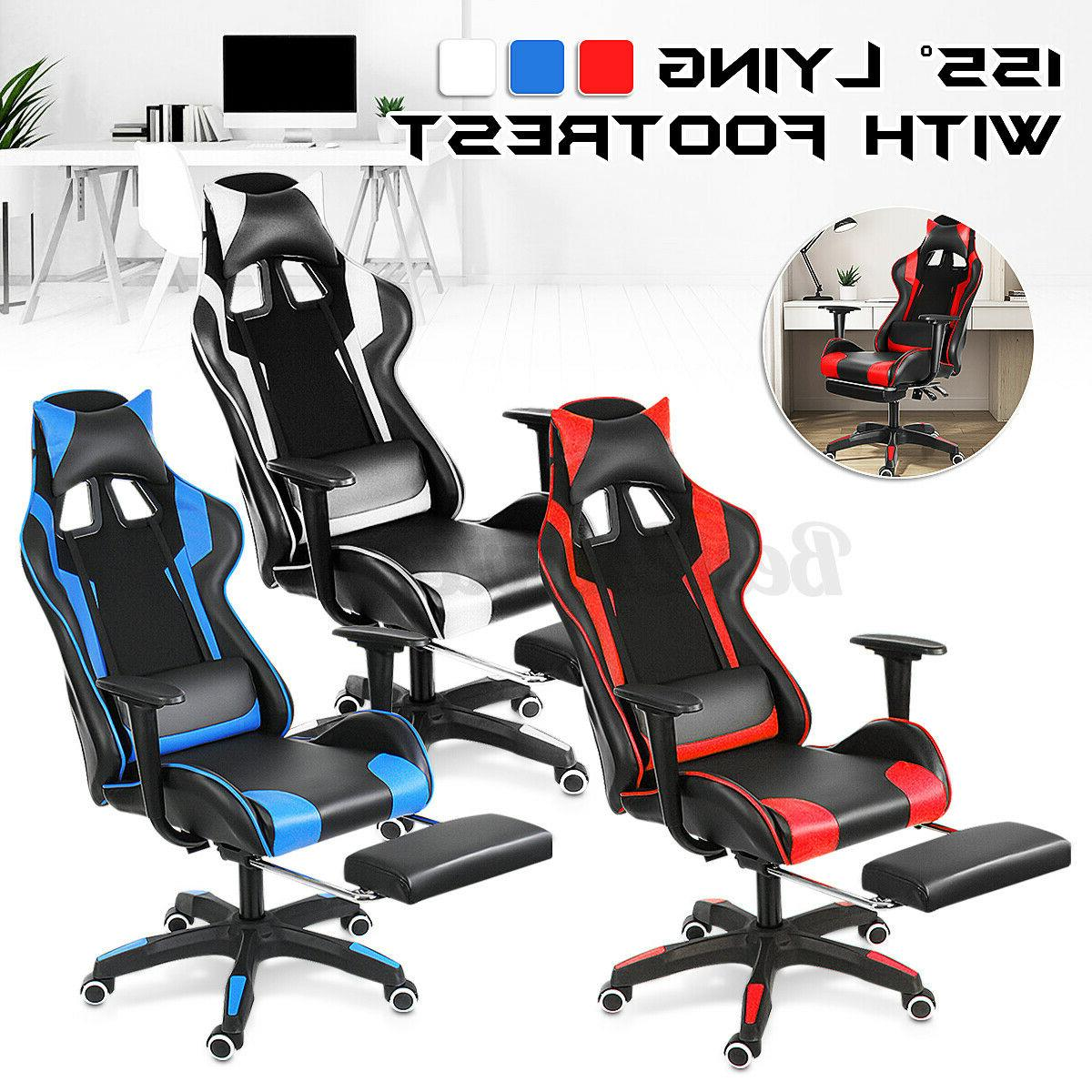 Heavy Duty Gaming Chair Ergonomic Recliner Office Computer