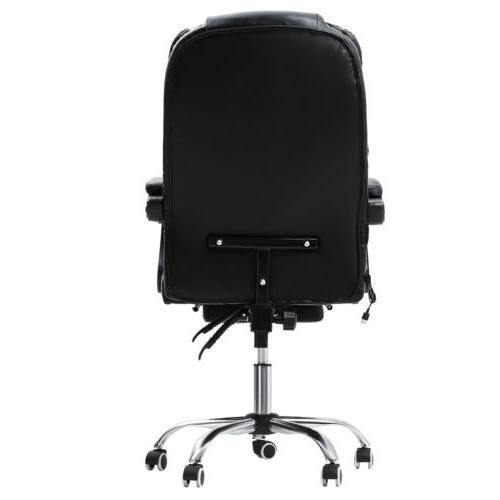 Executive Gaming Chair Reclining Swivel Chair Desk