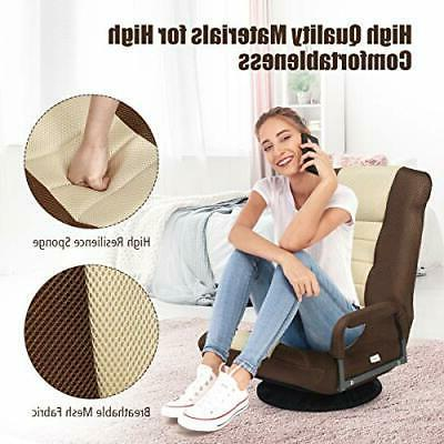 Floor Mesh Fabric Sofa Chair Comfortable Relaxing Chairs