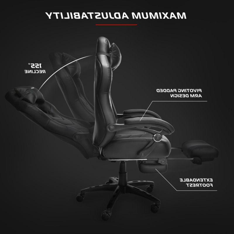 Gaming Chai Reclining Footrest