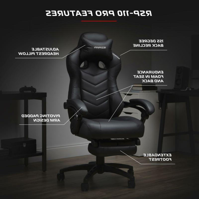 Gaming Chai Reclining Ergonomic with Footrest