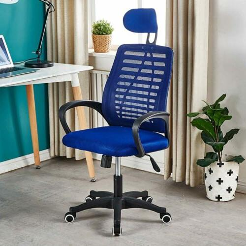 Adjustable Office Chair Home Desk Chair Computer Rolling Swi