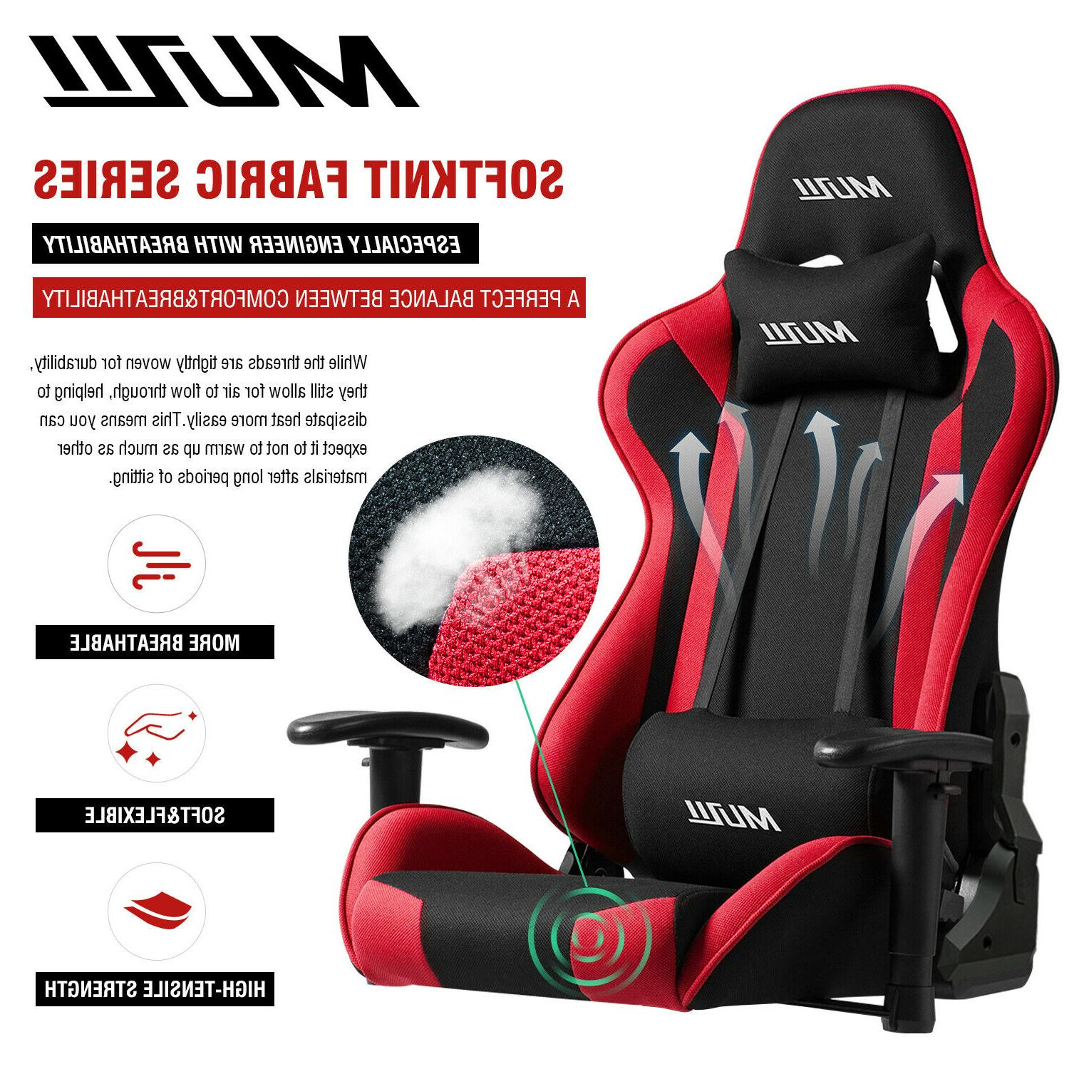 Gaming Office Racing Style 180° Recliner