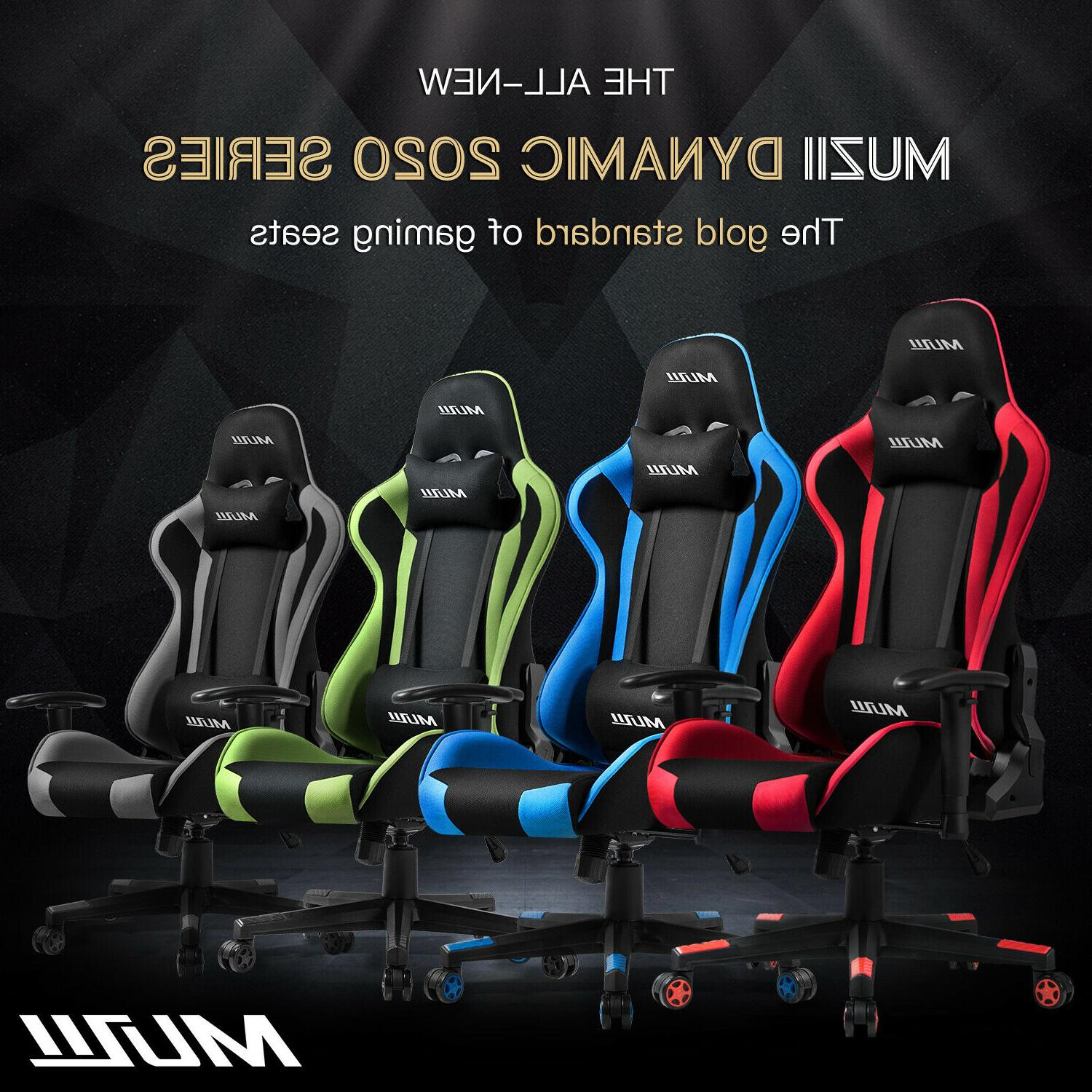 Gaming Chair Style 180° Recliner