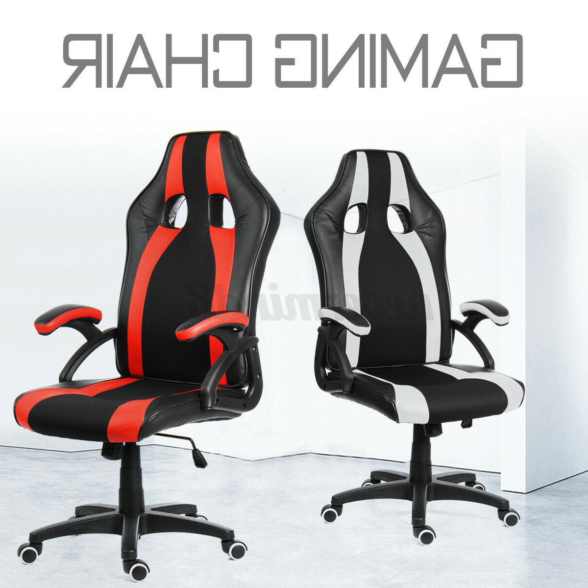 Gaming Chair Computer Office Chairs Back Footrest Recliner