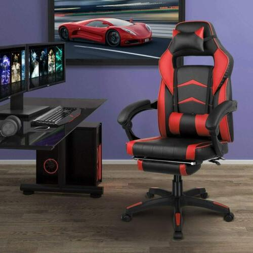 Gaming Racing Office Back Footrest Ergonomic