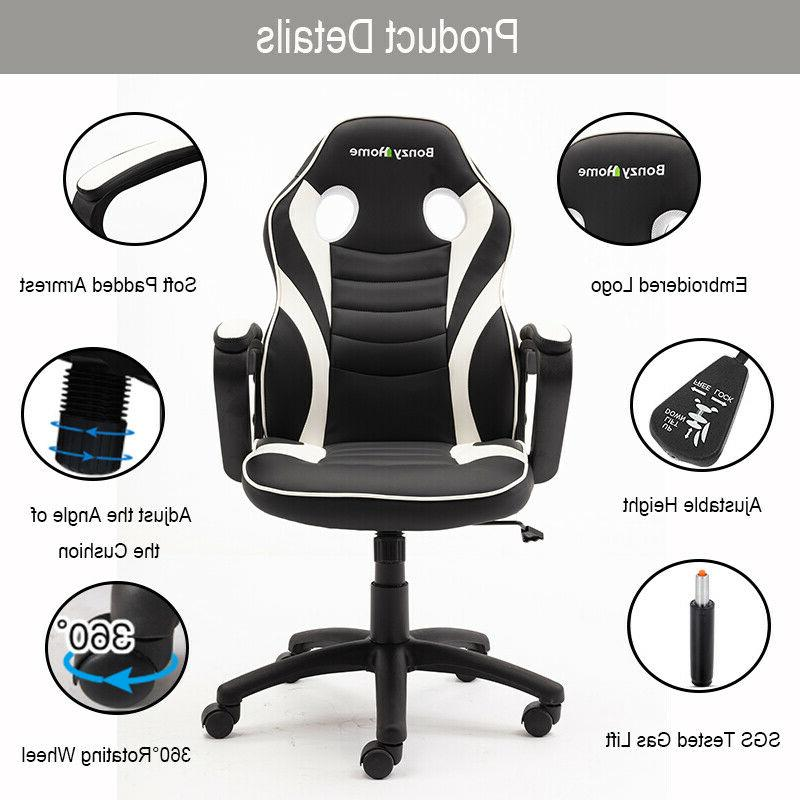 Gaming PU Computer Desk Seat