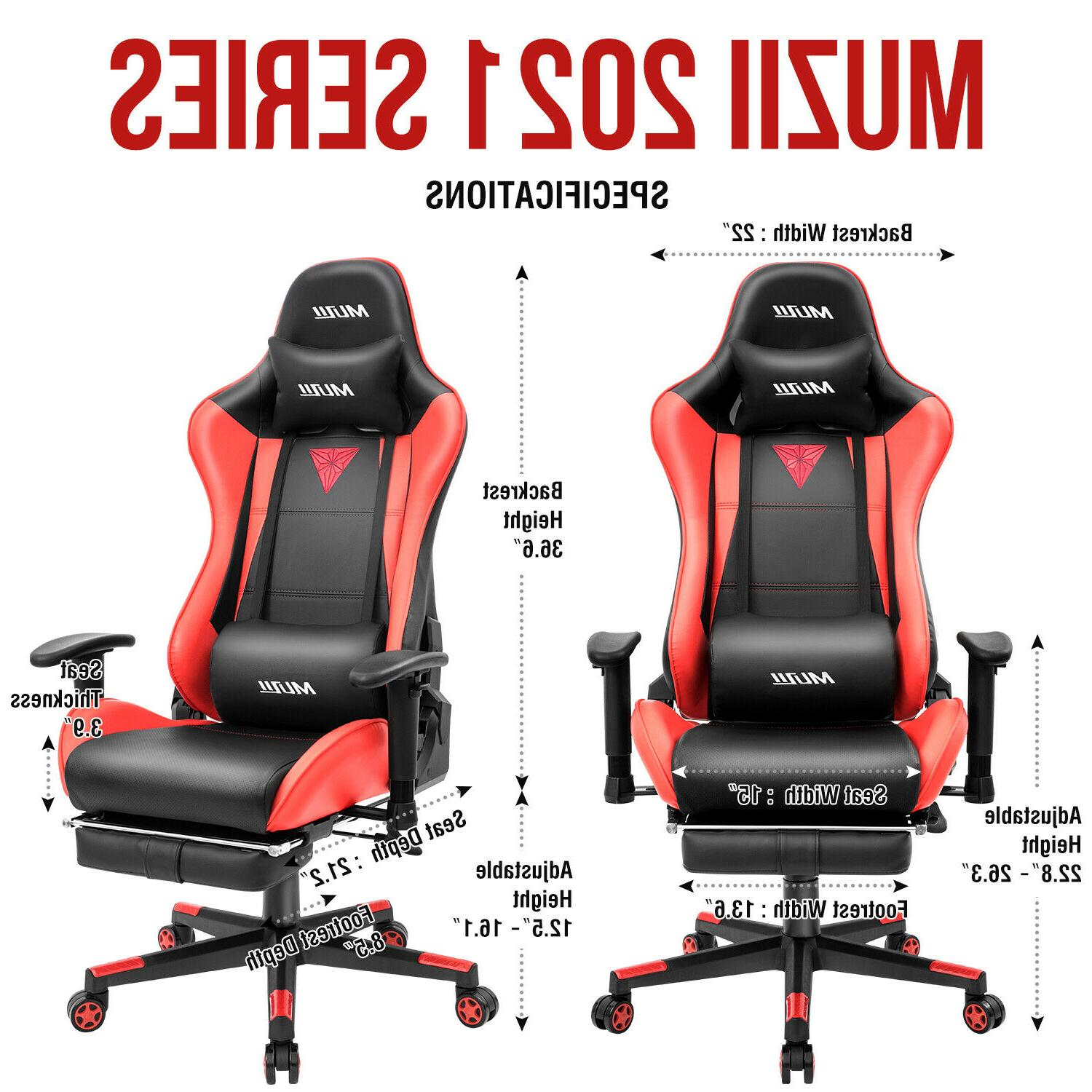 Gaming Office Racing Style Computer Swivel Desk