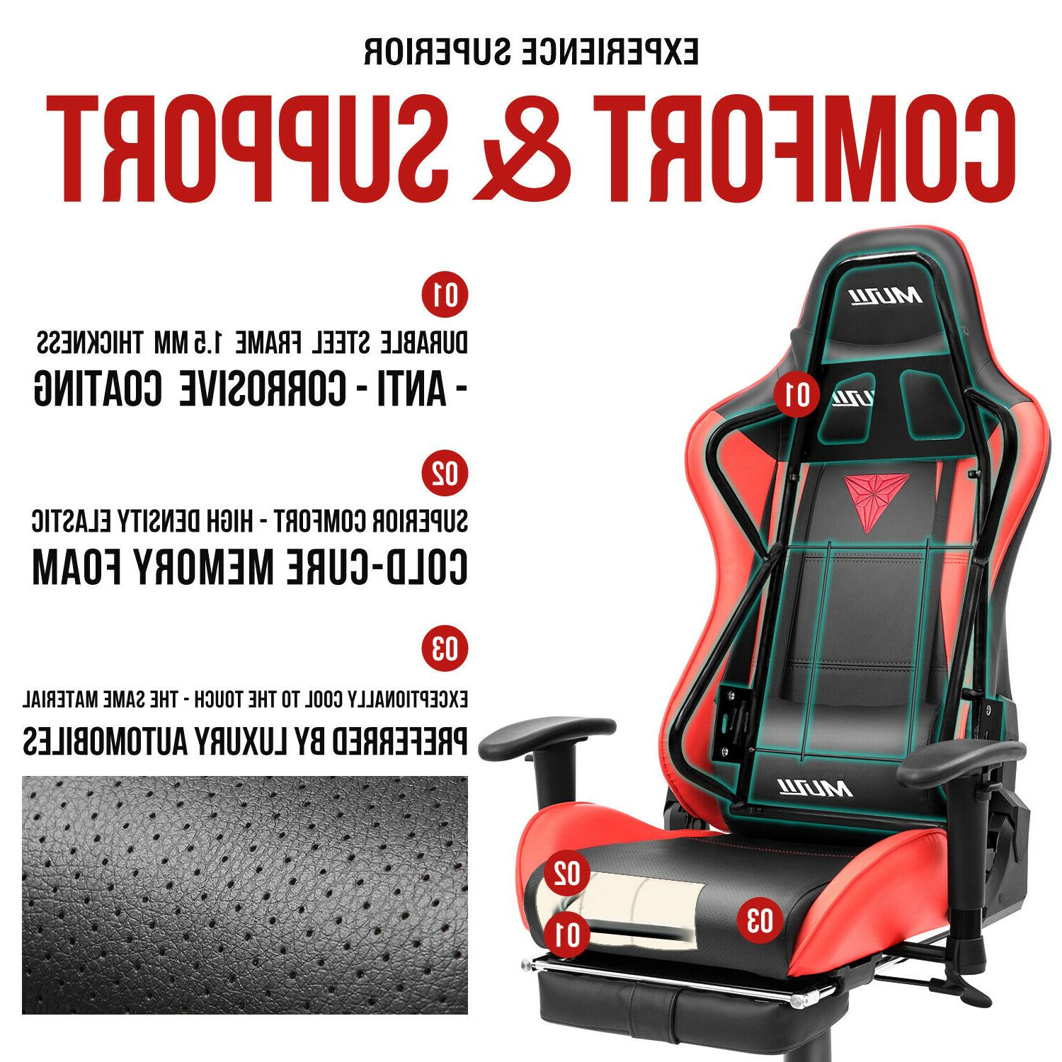 Gaming Chair Office Racing Swivel Desk Chair