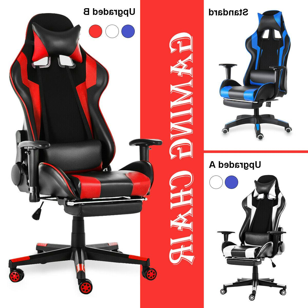 Heavy Duty Gaming Chair Ergonomic Leather