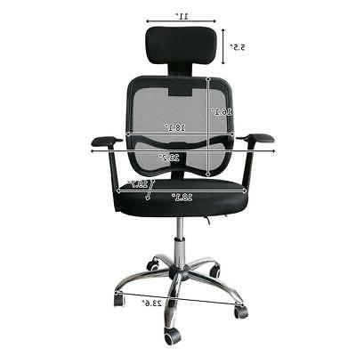 Home Back Chair Reclining Swivel Computer Chair