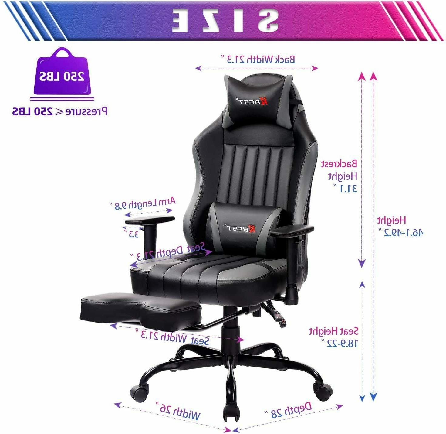 KBEST Gaming - Back PC Chair