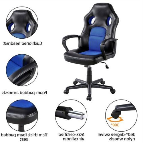 Leather Desk Chair Swivel Chair Gaming