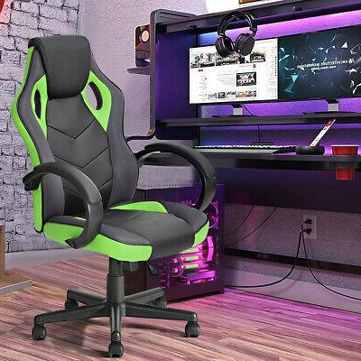 Office High Back Ergonomic Computer Chair PU Leather