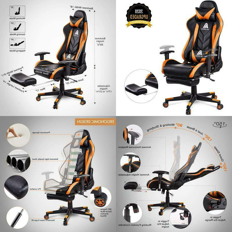 products gaming chair high back ergonomic computer
