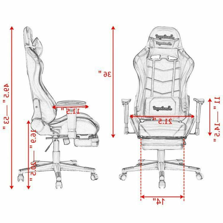 Racing Chair High Back Recliner Seat