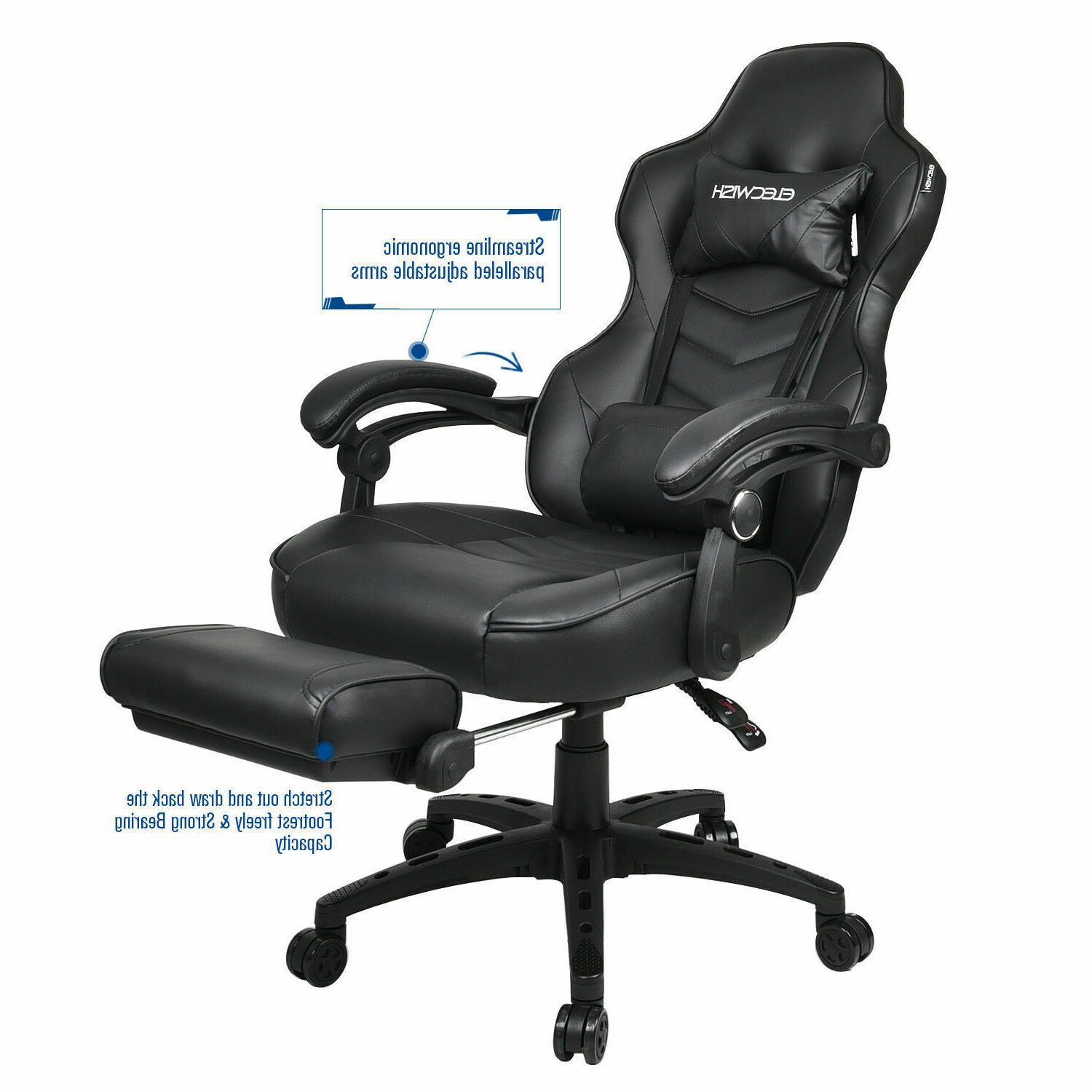 Video Chair Style Leather Computer