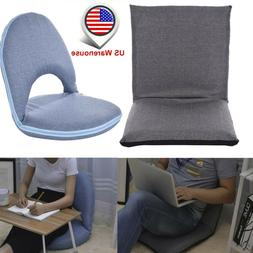 Lazy Sofa Chair Adjustable Floor ChairPadding Seat Lounger F