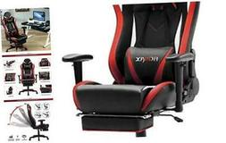 Massage Gaming Chair Ergonomic Computer Gaming Chair with Fo