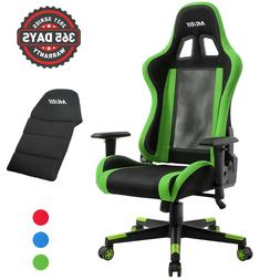 Multi-Style PC Gaming Chair Office Racing Style 180° Reclin